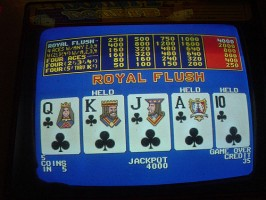 máquina de video poker