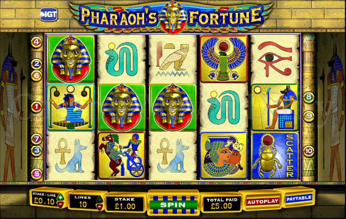 3-Pharaohs-Fortune-Slot