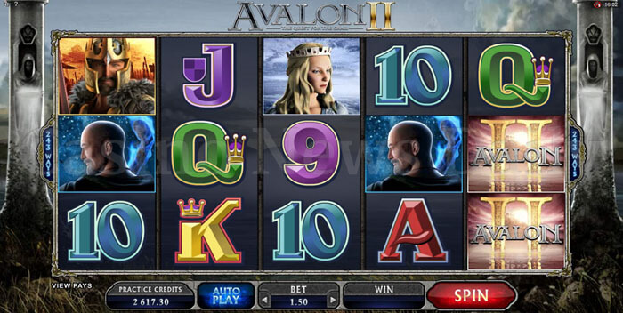 Avalon-II-The-Quest-For-The-Grail-Slot-microgaming
