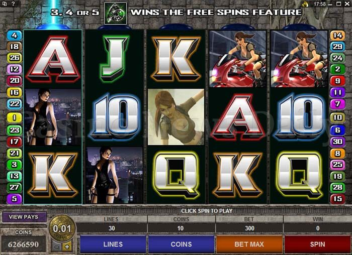 Tomb-Raider-Secret-of-the-Sword-Slot-microgamin