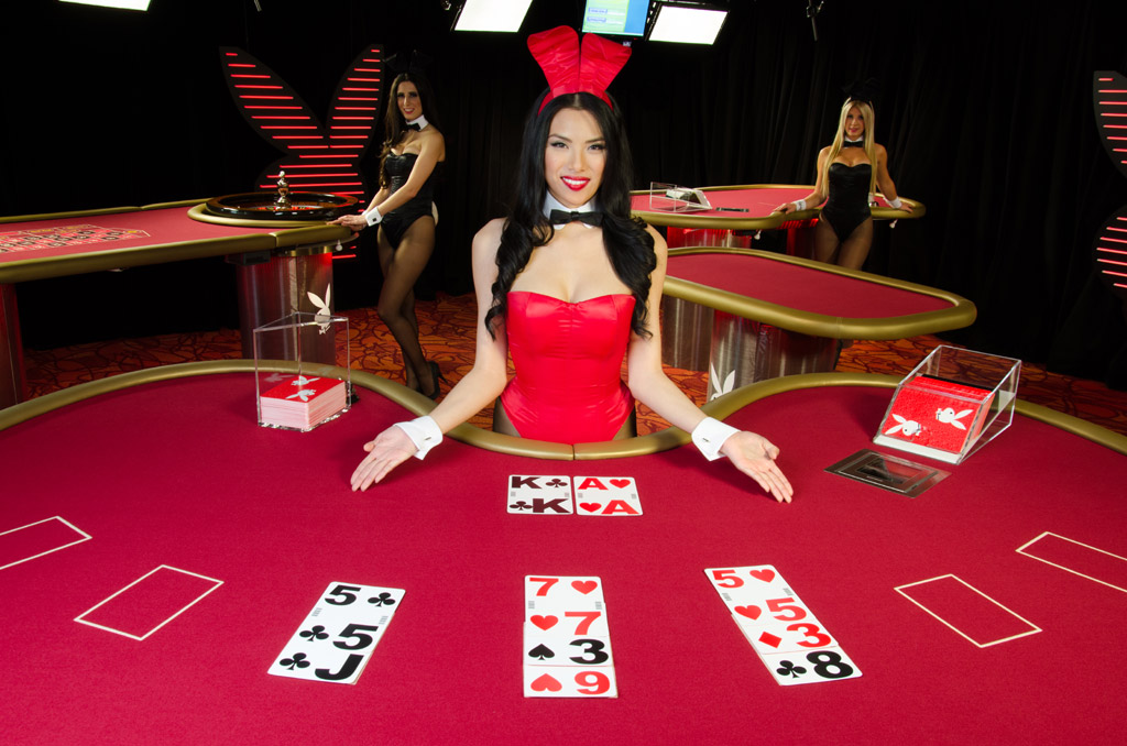 Playboy Blackjack en Vivo