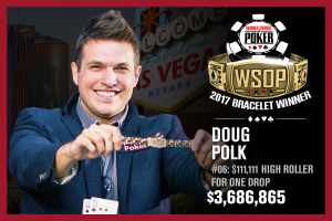 Doug Polk se lleva el 2017 WSOP $111,111 High Roller for ONE DROP
