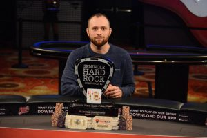 Brandon Eisen gana el 2018 Seminole Hard Rock Poker Open $5,250 Championship