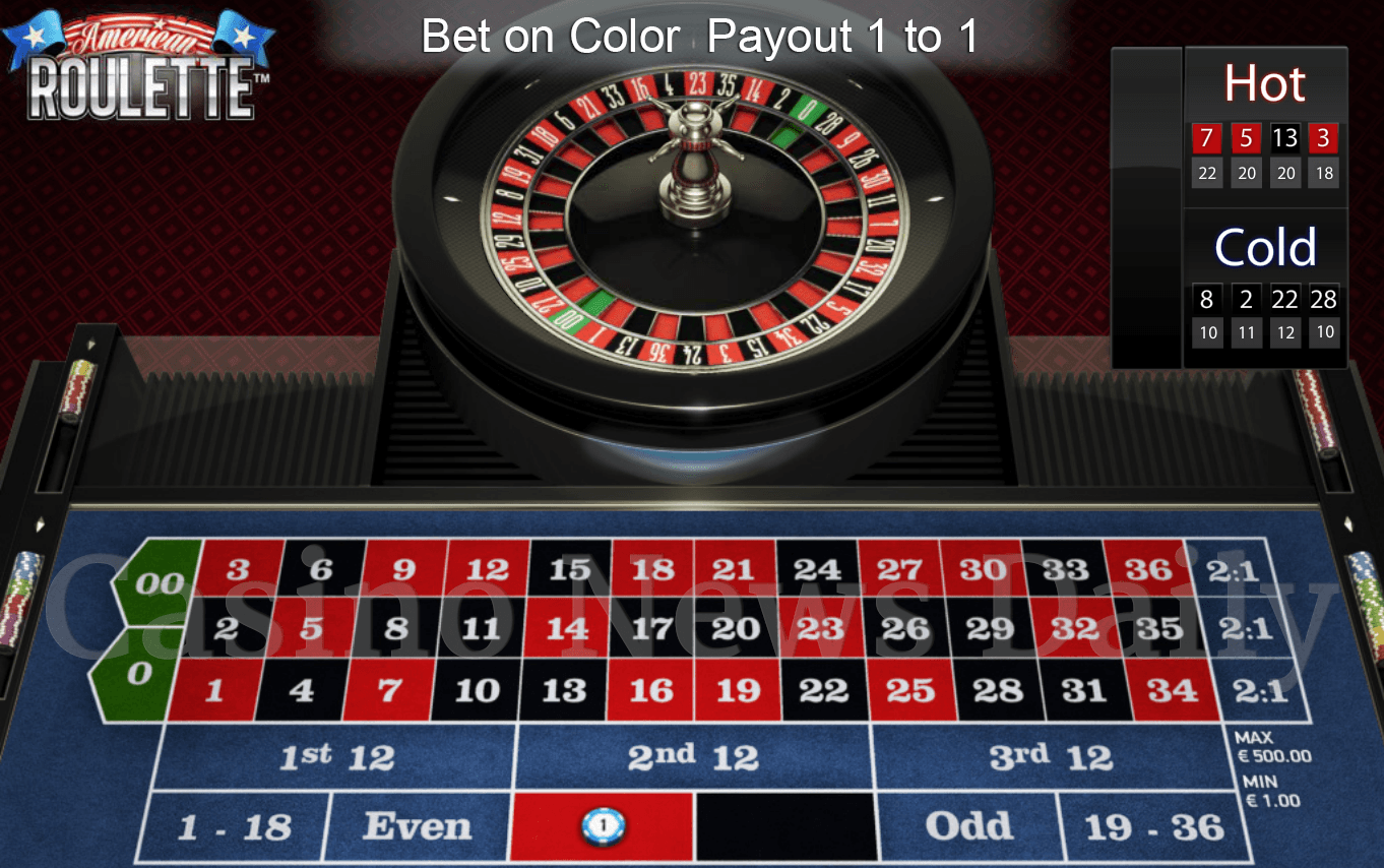 Roulette number 22