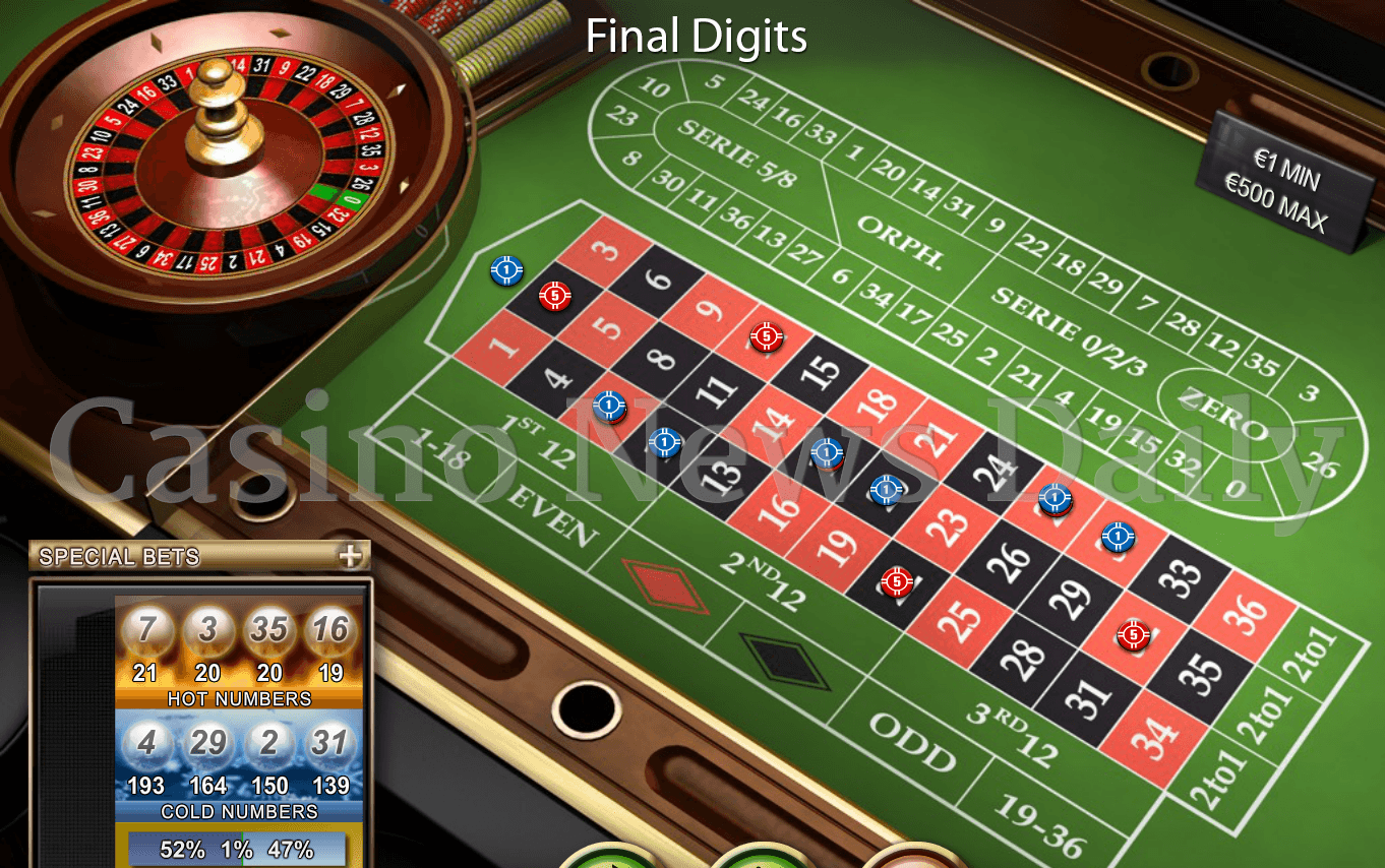 Roulette 2 to 1 nedir